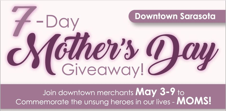 7-DAY MOTHER'S DAY GIVEAWAY!